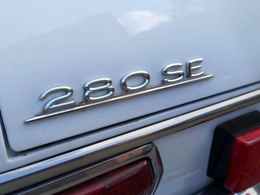 Mercedes S Blanche 280 SE 1968